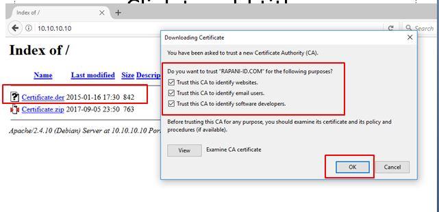 install certificate proxy squid 1