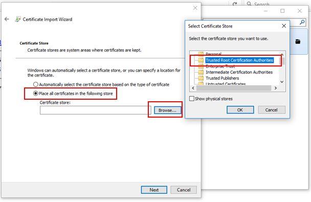 squid cache certificate